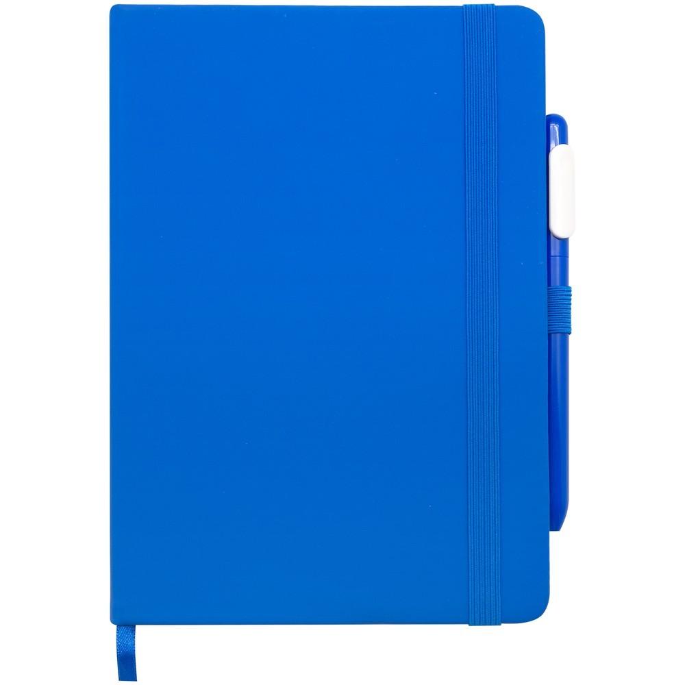 Antibakteriální sada (zápisník a propiska), modrá
