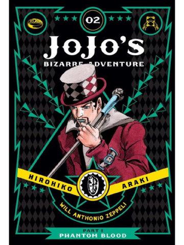 JoJo's Bizarre Adventure: Part 1-Phantom Blood Vol.2 (На Английском языке)