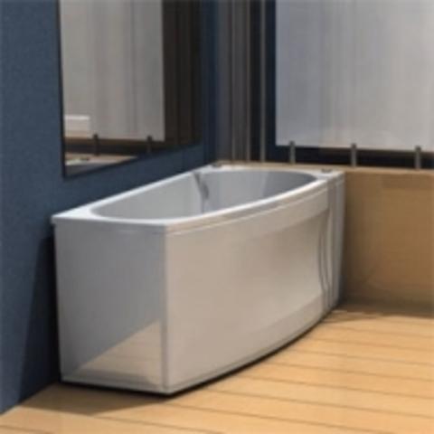 Ванна акриловая Aquatek Пандора 160х75см. на каркасе и сливом-переливом левая/правая