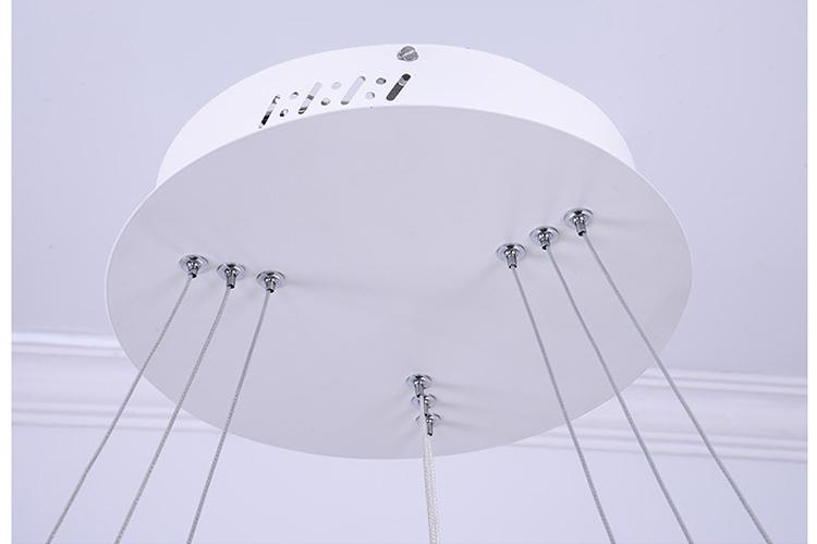 Подвесной Led светильник копия Corona by SONNEMAN D80 (серый)