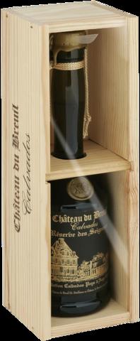 Chateau du Breuil Calvados Reserve des Seigneurs XO в деревянной подарочной упаковке