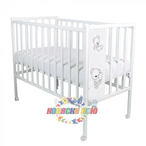 Кровать детская Magico LOFT TEDDY (колесо, качалка)