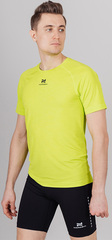 Элитная беговая футболка Nordski Pro Lime