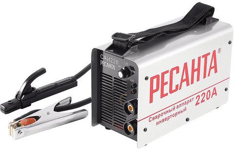 Аппарат сварочный инверторный Ресанта САИ220