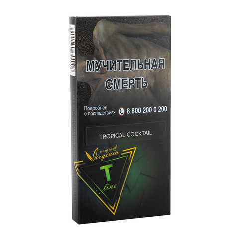 Табак Virginia T-Line Tropical Coctail 100 г