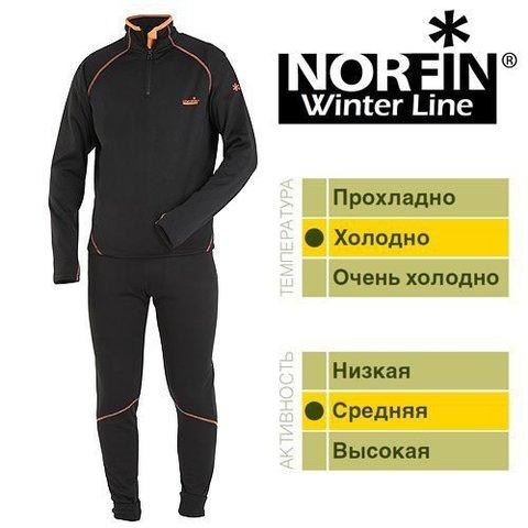 Термобелье Norfin WINTER LINE Чёрное