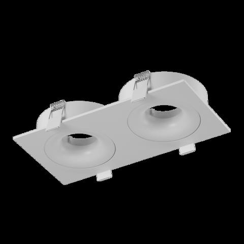 Корпус светильника COMBO-20 двойной белый
