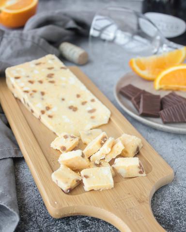 Десертный сыр Ильчестер шоколад+апельсин, кг