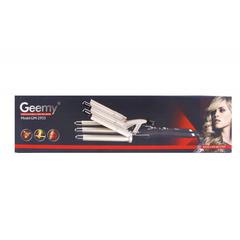 Geemy GM-2933 плойка 5 волновая ,щипцы для завивки
