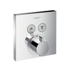 Термостат встраиваемый на 2 потребителя Hansgrohe ShowerSelect 15763000 фото