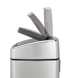 Прямоугольный мусорный бак Touch Bin (10 л), артикул 477201, производитель - Brabantia, фото 5