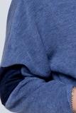 Джемпер для беременных 03808 синий