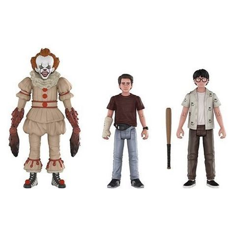 Комплект фигурок ОНО || Funko IT Action Figure 3 Pack - Pennywise, Eddie and Richie