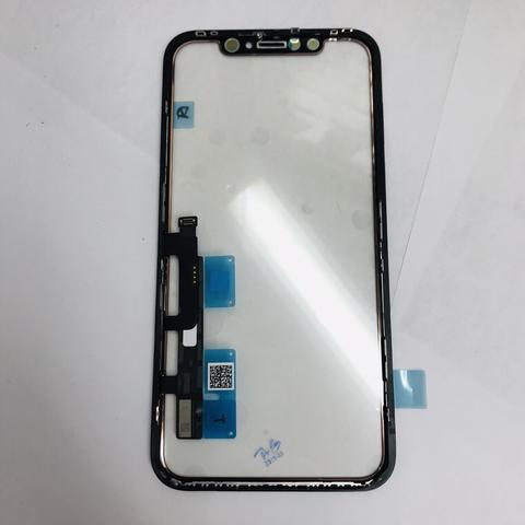 Тачскрин/стекло iPhone XR с дисплейной рамкой