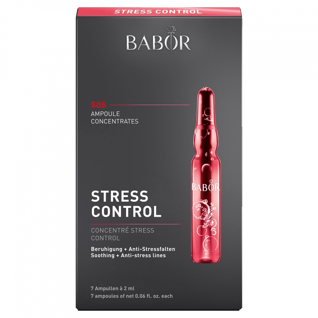 Набор Ampoule Babor Stress Control 14ml