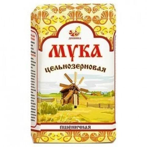 Мука Дивинка Пшеничная Обойная Цельнозерновая 1000г