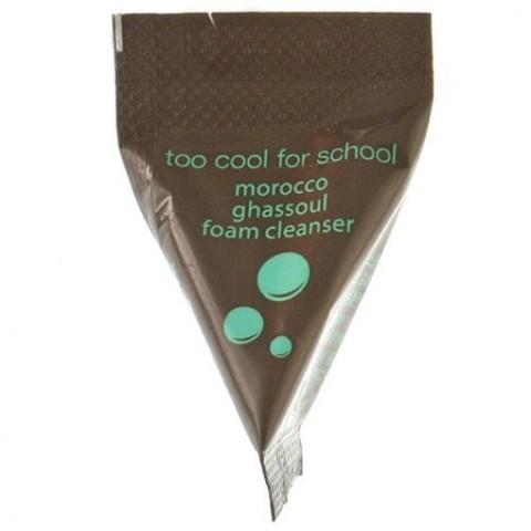 Too Cool For School Morocco Ghassoul Foam Cleanser пенка для умывания с марокканской глиной