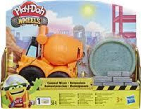 Игровой набор PLAY-DOH Wheels мини + пластилин