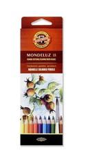 Набор акварельных карандашей MONDELUZ FRUIT 18 цветов в картонной коробке