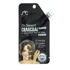 Маска-пленка Dr. Smart для лица с древесным углем для очищения и балансирования кожи лица 25 гр