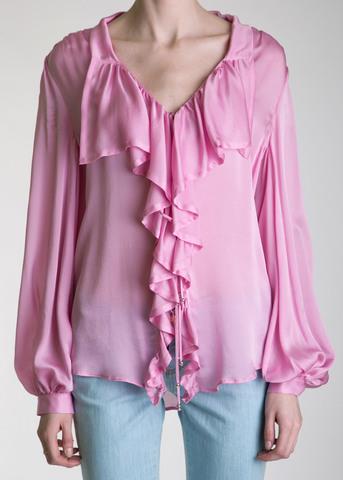 Блуза из шелка BLUMARINE