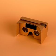 Очки виртуальной реальности Cardboard VR