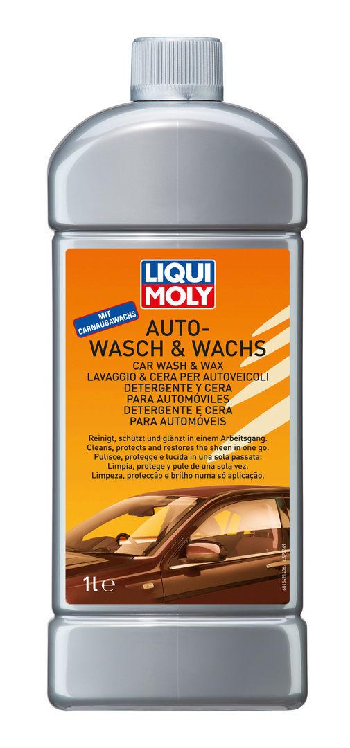 Liqui Moly Auto Wasch & Wachs Авто шампунь с воском для основательной мойки автомобиля