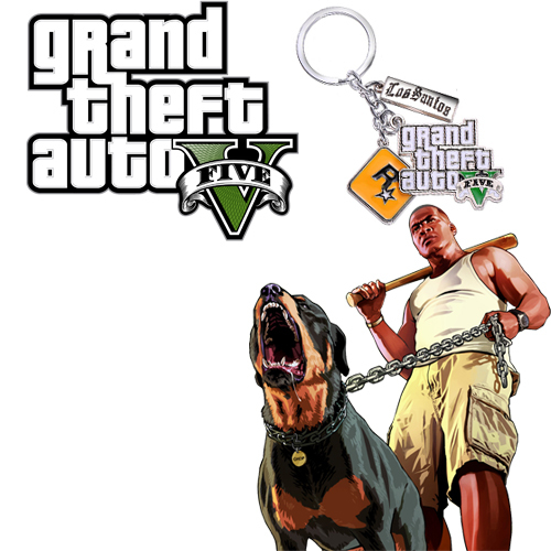 Брелок GTA Game Grand Theft Auto V