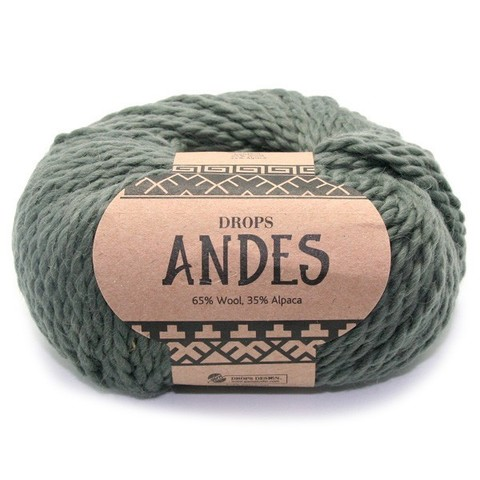Пряжа Drops Andes 7810 полынь