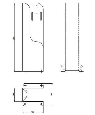 Крепеж быстродействующего клапана Switch mechanism