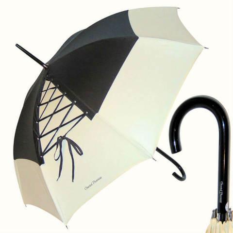 Эффектный зонт-трость со шнуровкой, пр-во Франция