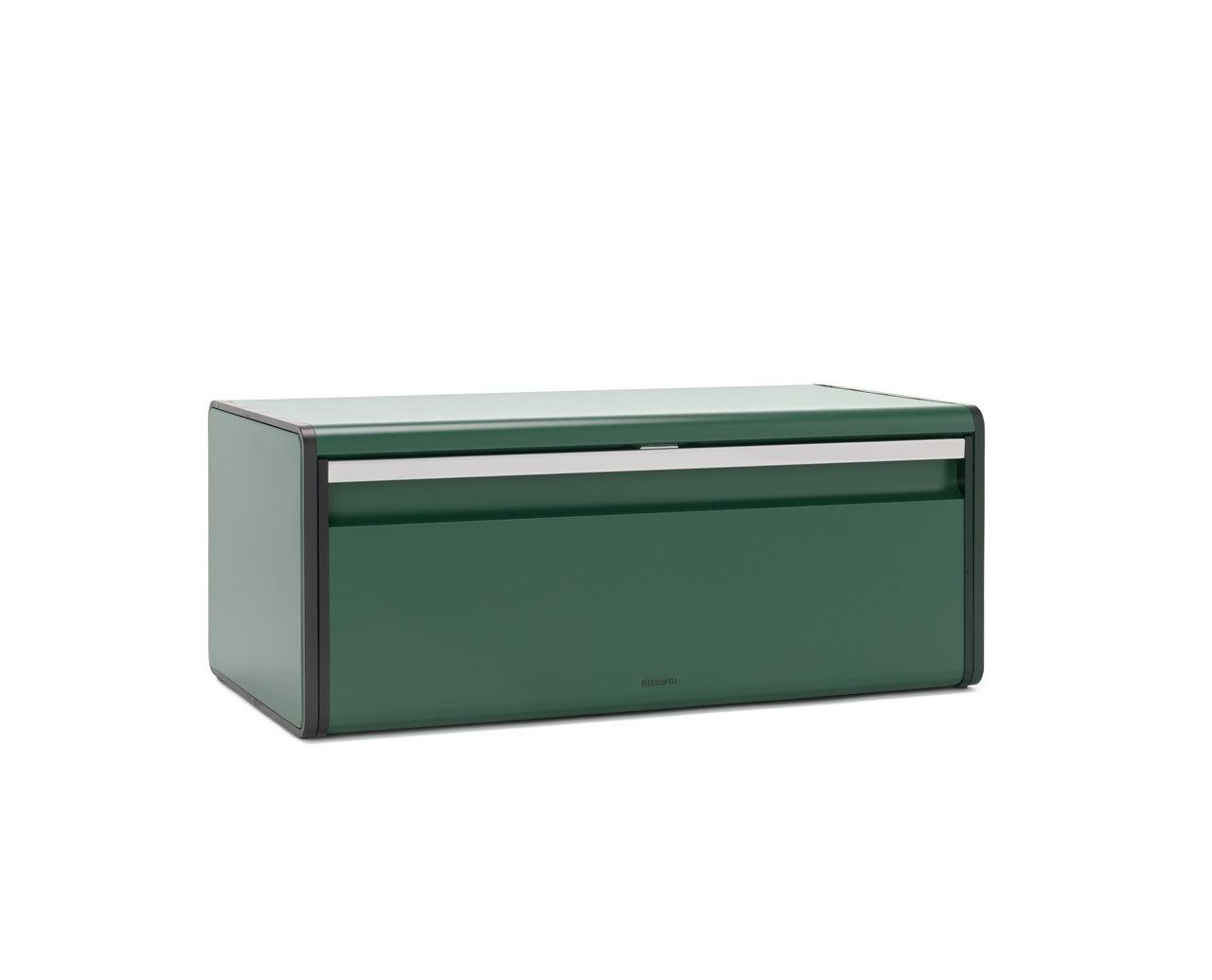 Хлебница с откидной крышкой, Зеленая сосна, арт. 304705 - фото 1