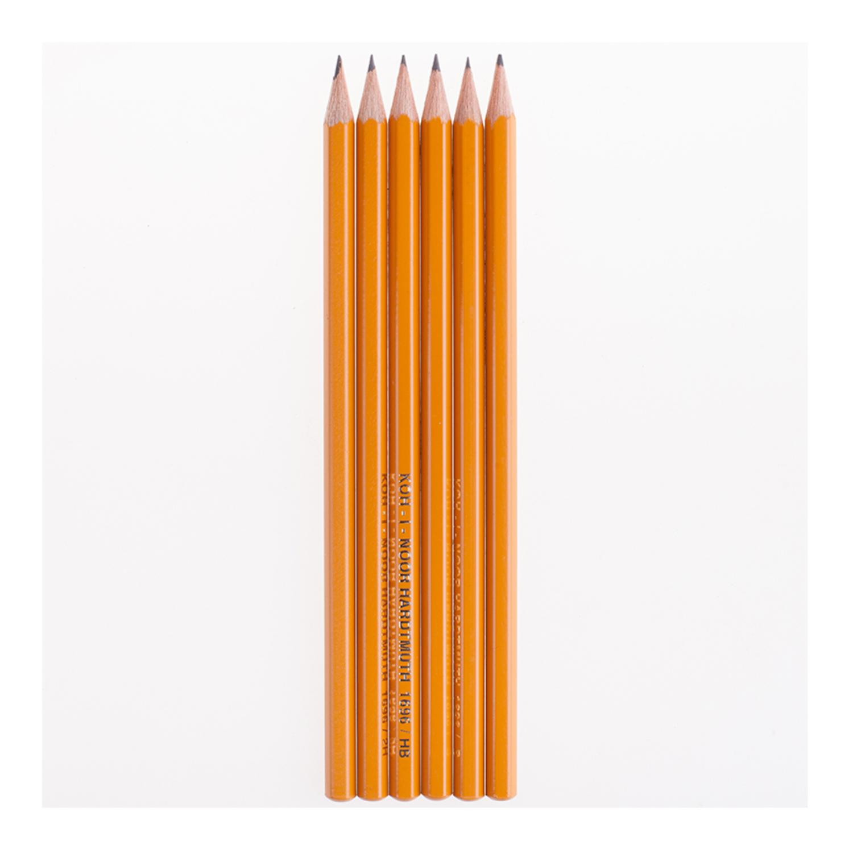 Набор чернографитных простых карандашей Koh-I-Noor
