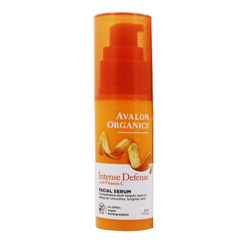 Avalon Organics Vitamin C: Сыворотка для лица с витамином С (ntense Defense With Vitamin C Facial Serum), 30мл