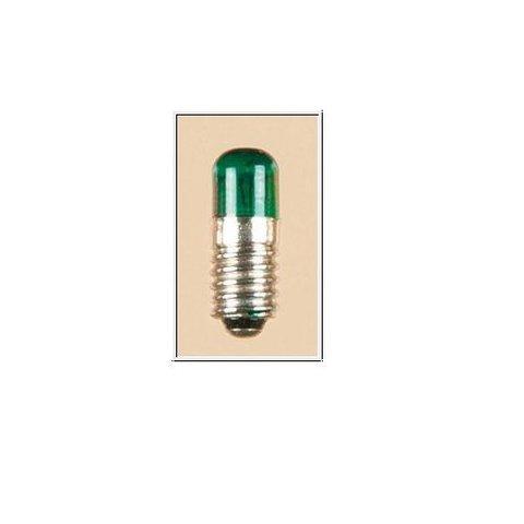 Лампочка - Зелёная, 16v, 0,05a, E5,5 (1шт.)