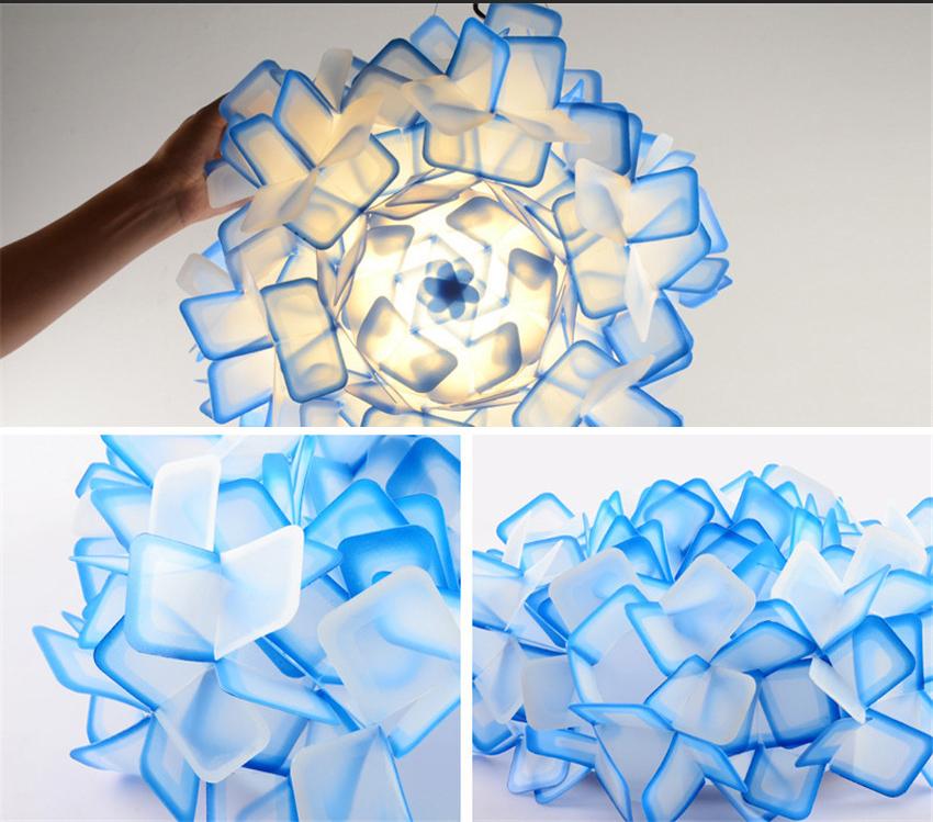 Подвесной светильник Clizia by Slamp D53 (голубой)