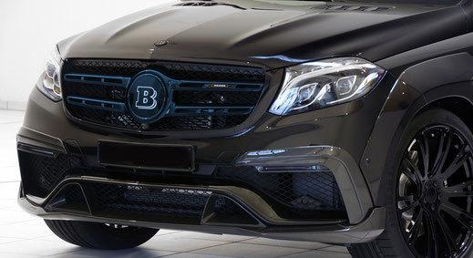Карбоновая решетка радиатора  для Mercedes GLS