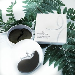 BeauuGreen Sea Cucumber black Hydrogel Eye Patch  60 шт.