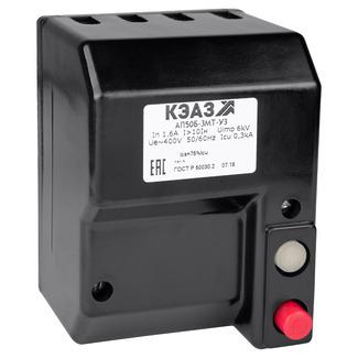 Автоматический выключатель АП50Б-3МТ-10IH 6,3А