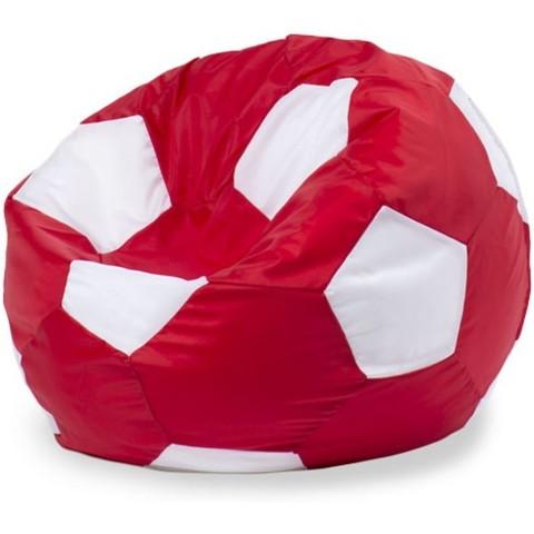 Кресло-мешок «Мяч» Красно-белый