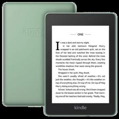 Электронная книга Amazon Kindle Paperwhite 2018 sage (зеленый) (Ad-Supported)