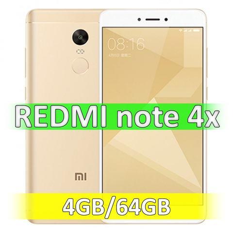 Xiaomi Redmi Note 4X (4-64Gb) Gold