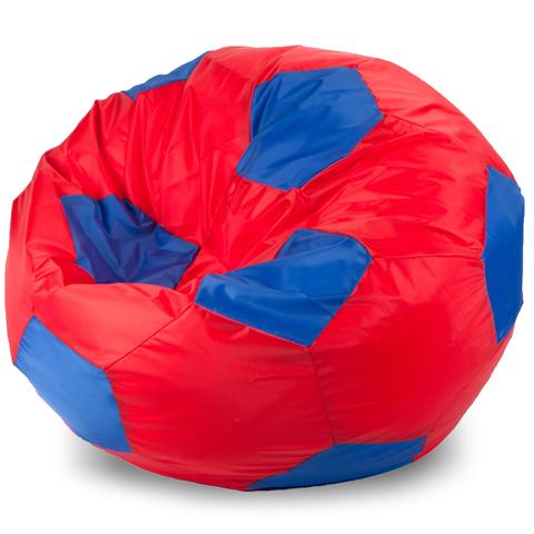 Пуффбери Внешний чехол Кресло-мешок мяч  XL, Оксфорд Красный и синий