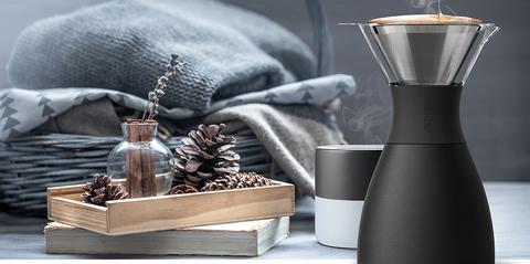 Кофеварка портативная Asobu Pour Over (1 литр), черная
