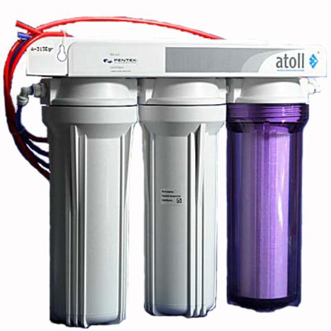 Бытовой фильтр ATOLL проточный А-313 Еr
