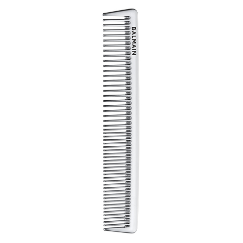 Balmain Hair Серебряная раcческа для стрижки Silver Cutting Comb