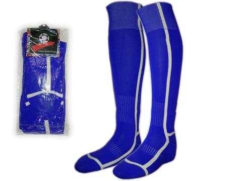 Гетры футбольные. Цвет: синий. Размер: 40-44: K-F