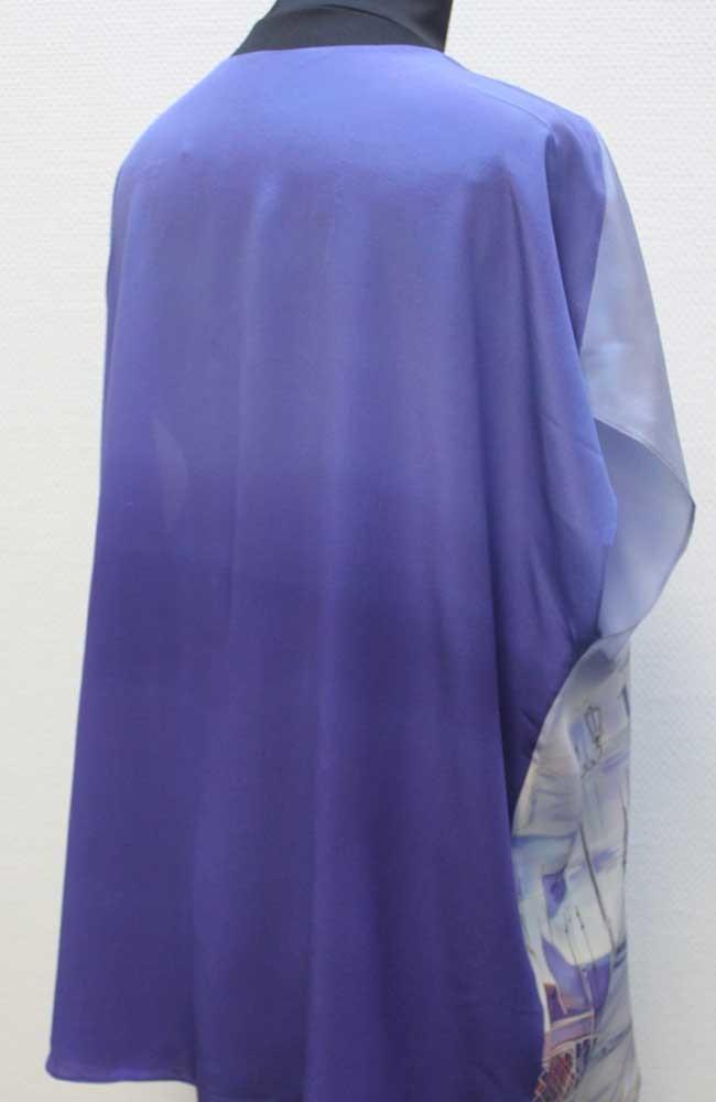 Шелковая блузка батик Венеция П-182