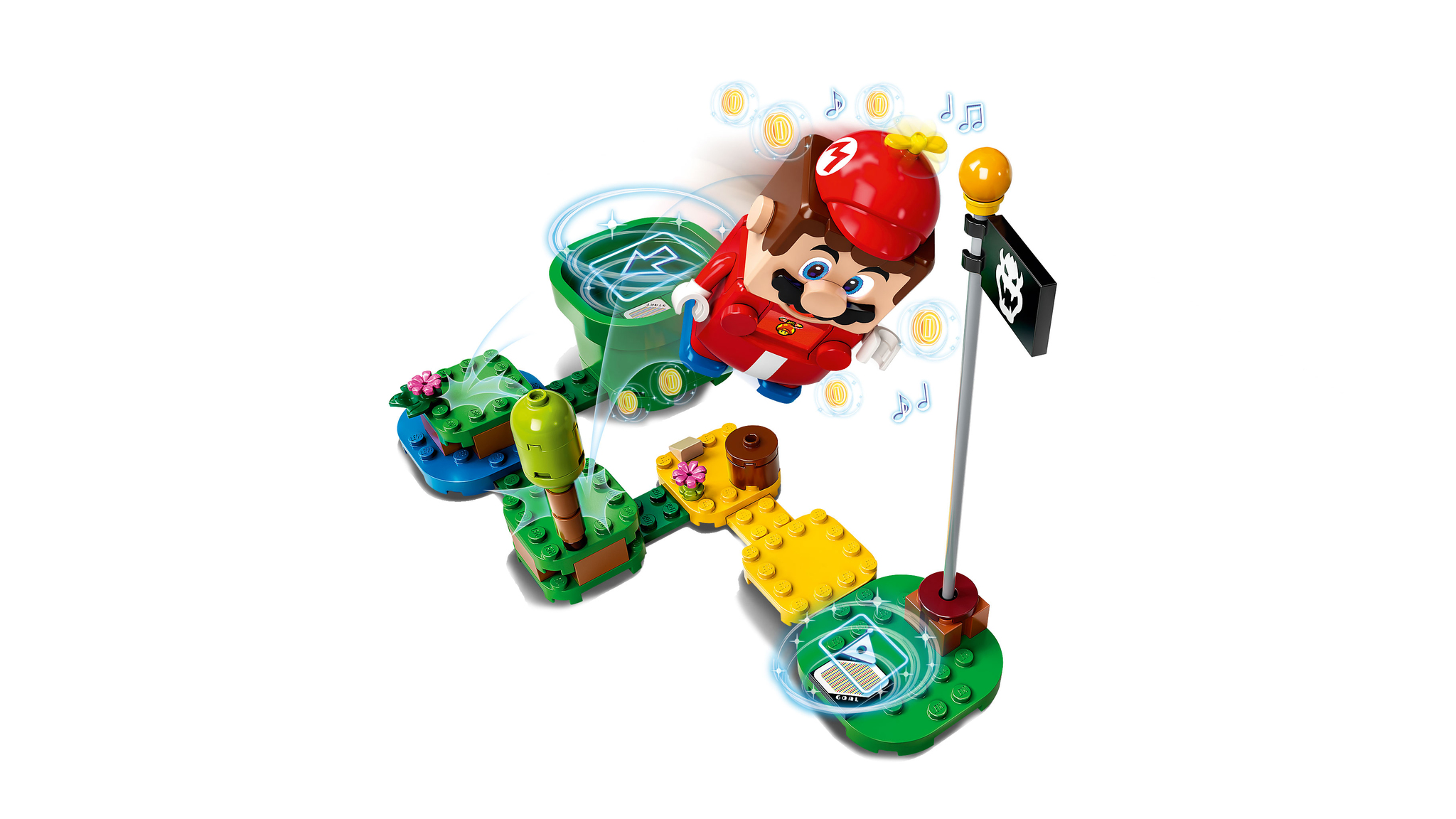 Конструктор LEGO Super Mario 71371 Набор усилений Марио-вертолет