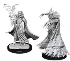 Pathfinder Battles Deep Cuts Unpainted Miniatures - Cultist & Devil